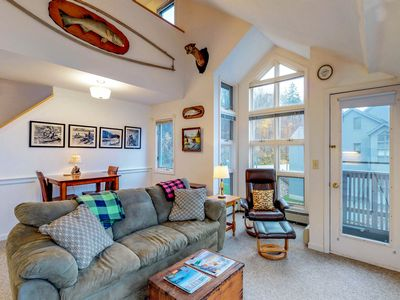 Photo for Ski-in/ski-out of this condo w/ shared pool & sauna at the foot of Pico Mountain