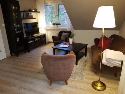 Photo for Cozy 2 bedroom apartment with Wi-Fi and TV in every room. For up to 5 people