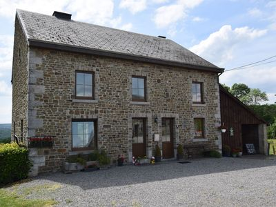 Photo for Spacious house with panoramic view over the Ourthe valley