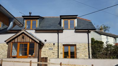 Photo for Beautiful luxury cosy village cottage near Woolacombe and Croyde beaches