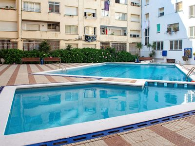 Photo for Nice apartment for 3 people with pool, internet, TV and balcony