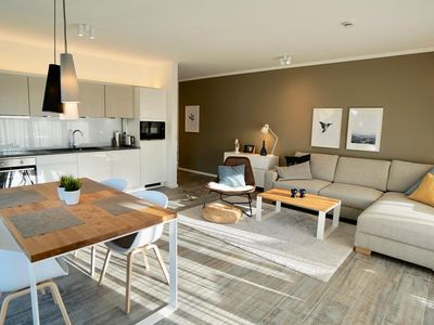 """Photo for This Nordic modern premium apartment """"Nordbudje"""" for 4 people sprays e"""