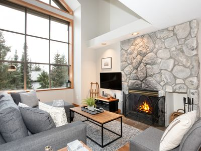 Photo for Walk to the Slopes ★ Updated Ski Townhome ★ Hot Tub, Parking, WiFi