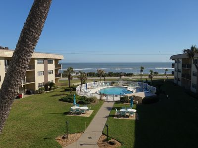 Photo for Oceanfront 2 bed/2 bath condo, top floor (3rd), fully equipped