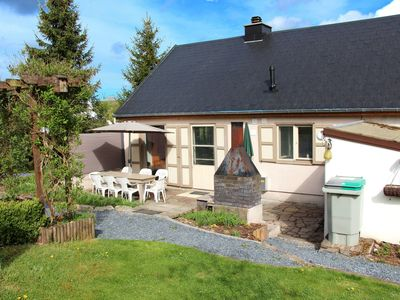 Photo for Nicely renovated holiday home with view and big enclosed garden