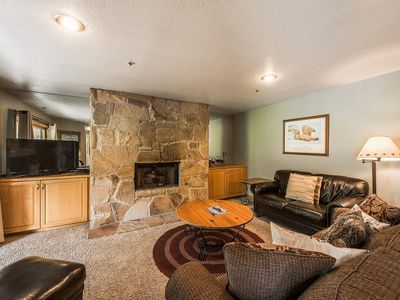 Photo for *FREE SKI RENTAL* No Car Needed - 200 Yards to Ski Lifts & Bus Stop Out Front, New TV's,Therapy Pool