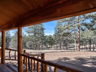 Photo for This cabin is paradise with nature, yet popular to Pikes Peak attractions.
