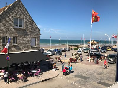 Photo for Windows on sea in Arromanches 6/8 people