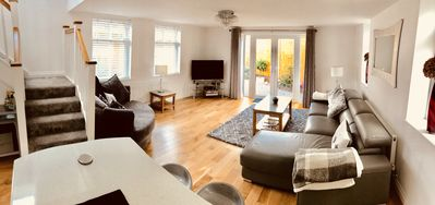 Photo for Walking distance to Bournemouth New Property private garden Smart TV & Netflix