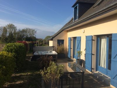 Photo for 9 minutes walk from the beach - contemporary cottage *** - spa