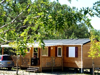 Photo for Camping Landes Oceanes **** - Mobile home 3 Rooms 4 People