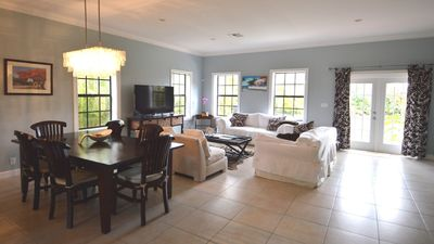 Photo for Quaint home in Nassau, Bahamas in gated community - includes Golf Cart