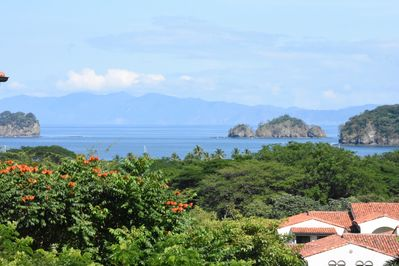Wonderful view of Bahia Coco from the house