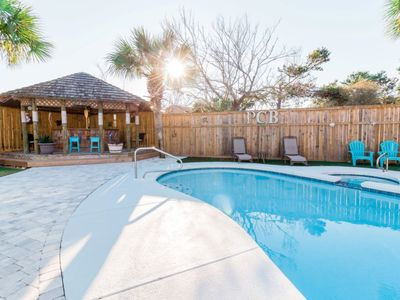Photo for Private Pool & Hot Tub, Awesome Tiki Bar and Golf Cart