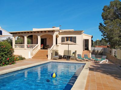 Photo for 2 bedroom Villa, sleeps 6 in Cala Pi with Pool