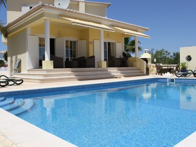 Photo for Lagos - Meia Praia Family Friendly Villa Private Pool Mountain Views