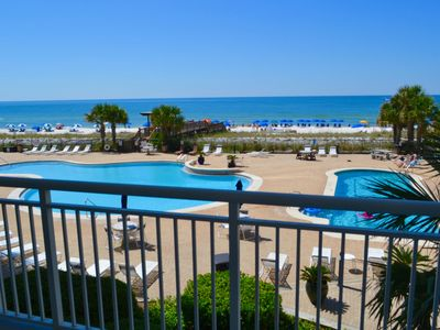 Photo for PALACIO PERDIDO Beachfront Sleeps 11 also  Poolside. Newly Renovated. No Carpet