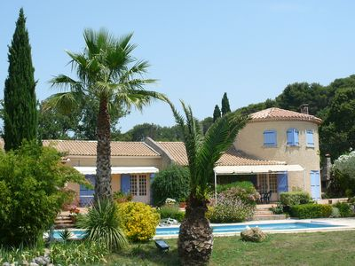 Photo for Bed and Breakfast in a 19th century Bastide in a large wooded park with swimming pool - sleeps 4