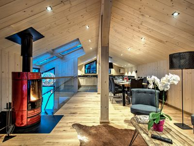 Photo for Chalet in Chamonix centre, 3 bedrooms ensuite,  sleeps 6, view Mont Blanc