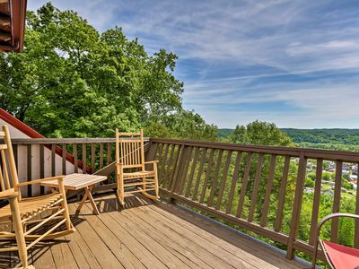 Photo for NEW! Burkesville Apt w/ Deck, Views & Pool Access!