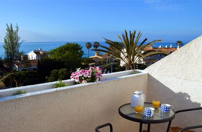 Photo for Traditional Spanish townhouse with 3 bedrooms by the sea