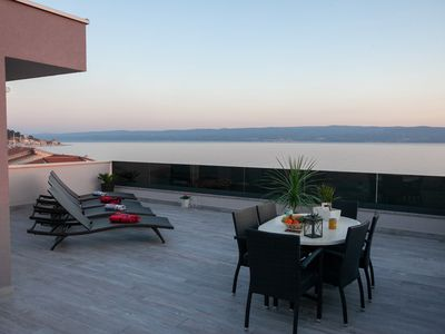 Photo for Luxury Apartments with roof terrace and sea view