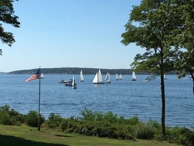 Photo for A magical waterfront location, an extraordinary spot on Narragansett Bay