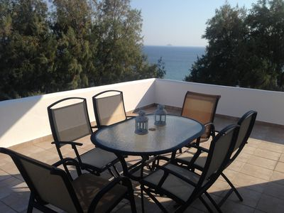 Photo for A BALCONY WITH AMAZING SEA VIEW