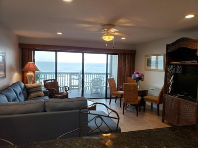 Photo for Oceanfront condo on Carolina Beach with wifi