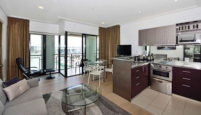 Photo for Spacious Suite, open floor concept, sea and harbor views from balcony. Free WiFi