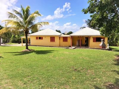 Photo for Pretty Zando Bungalow 2 bedrooms in St-François Guadeloupe