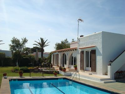 Photo for Delightful Villa with large Private Pool and Sea Views
