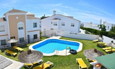 Photo for Lovely apartment with private terrace, swimming pool and WIFI - Luna Canovas (5)