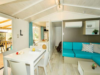 Photo for Holiday Village Le Domaine d'Anghione *** - Premium Mobile Home 4 rooms 6 persons air-conditioned