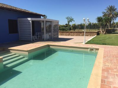 Photo for Holiday apartment with a private pool