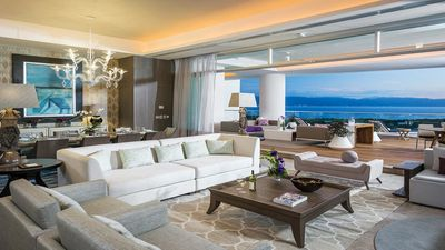 Photo for 4 bedroom, 7,000+ sq ft with spectacular views, 2 terraces, sleeps 12