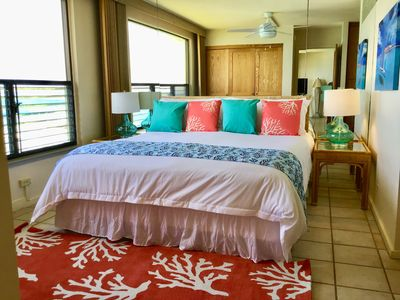 Photo for Serenity By The Sea, Spectacular Poipu Shores Ocean Front, Sleeps 6