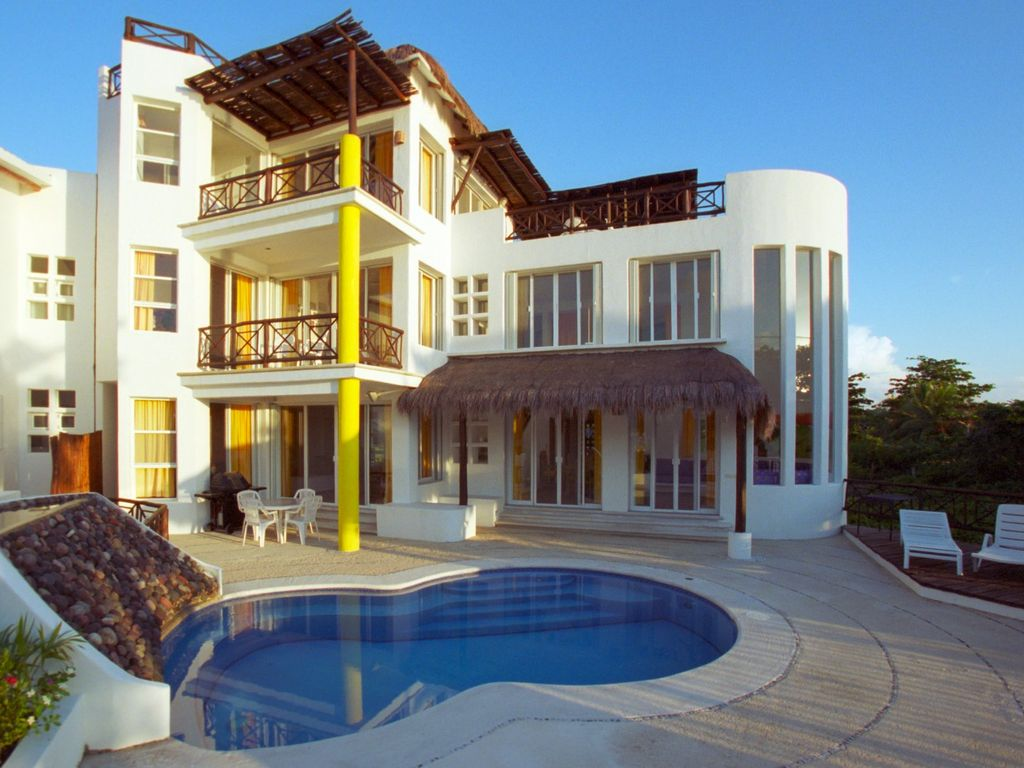 Villa alegria directly on san francisco beach with private - 4 bedroom apartment san francisco ...