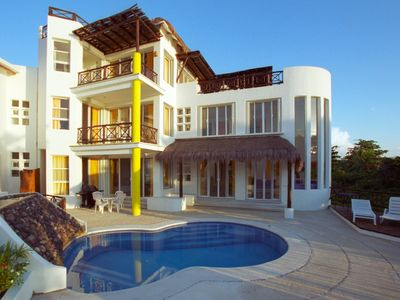 Photo for Villa Alegria directly on San Francisco Beach with private pool!