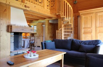Photo for Ideal location in a quiet area, with view over le Mont d'arbois, Chalet for 6 persons