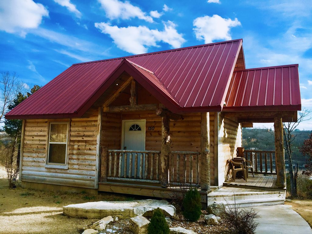Cable tv bighorn lodge cabinsatbranson private 1 bedroom for Cabins at branson meadows