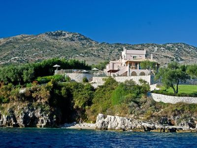 Photo for Kassiopi Villa, Sleeps 12 with Pool, Air Con and WiFi