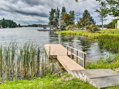 Photo for Waterfront 1BR Wellesley Island Apt w/Private Dock