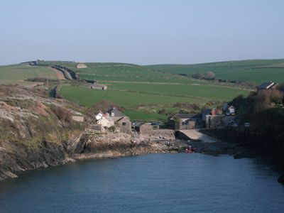 View from Kellan Head towards Port Quin