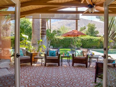 Photo for The Arbor at Deepwell Estates - Palm Springs! Walk to Palm Canyon Drive