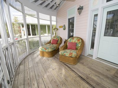 Photo for Paradise30A~Breakaway, Newly Renovated, Seaside, 2 minute walk to the beach, Heated community pools!- Call for Fall discounts!
