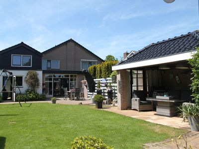 Photo for Modern luxurious holiday home with spacious back garden and veranda in Limmen