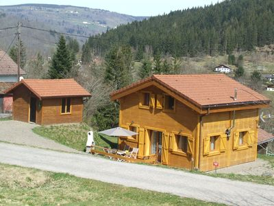 Photo for Comfortable cottage, quiet, forest edge, near Ventron and Bresse