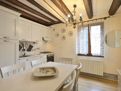 Photo for BRIGHT APARTMENT WITH TYPICAL CALA VIEW, IN CASTELLO, A FEW MINUTES FROM SAN MARCO