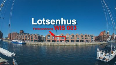 Photo for Lotsenhus WIS 003 (max 6 pers.) - 3 room apartment - directly at the Old Port of Wismar
